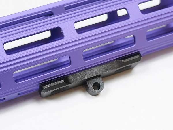 MLOKハンドガード対応 バイポッドアダプター (金属製)【カラー選択可能】