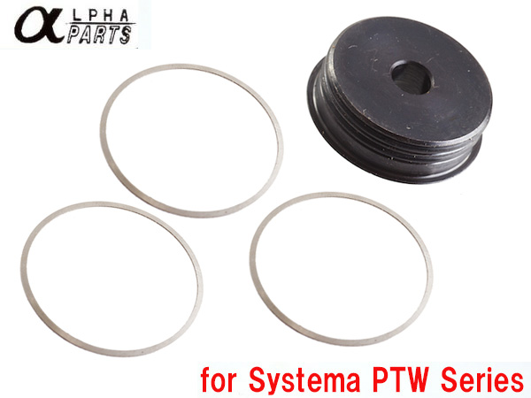 Alpha Parts Pipe Tube Cap Set for Systema PTW M4 Series / APARTS-PTW02