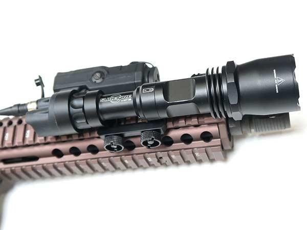 M961LEDフラッシュライト(9V) リモートコードモデル/ELEMENT製/EX109