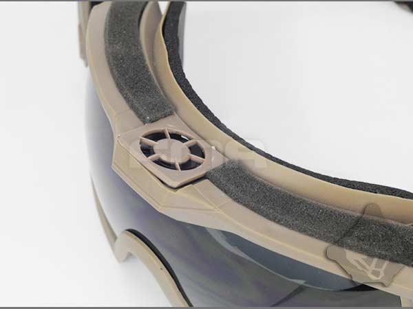 タクティカルファン ゴーグル(レギュレータアップデートバージョン)TB1029-DE