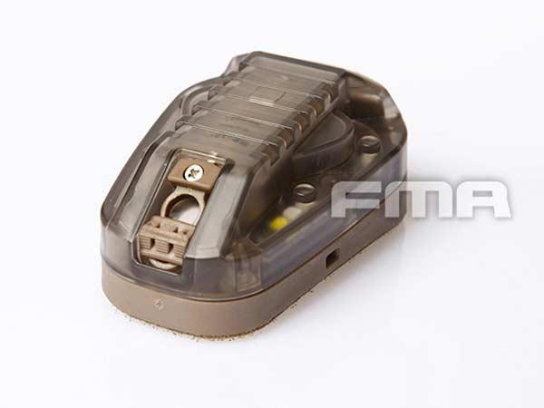 FMA COREタイプ HEL-STAR 6 Gen III ヘルメット ストロボ ライト レプリカ