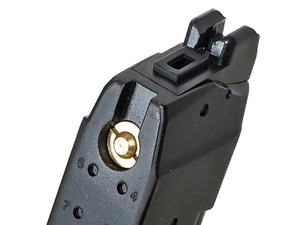 APS ガスブローバックガン G17 G18用 D-mod ACP601 Co2 50連マガジン【金属製】 BK(ブラック)【AC063】