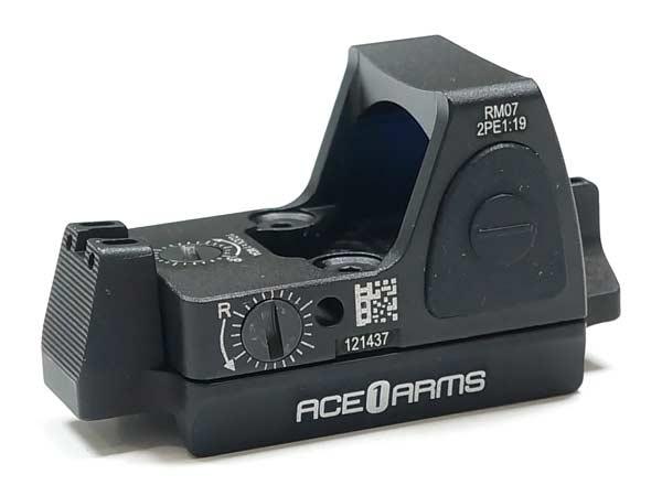 ACE1 ARMS RMRタイプドットサイト & Dueck Defenseスタイル1911用 RBUサイトマウントセット!(東京マルイM1911シリーズ)/G-RMR-1911SB