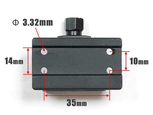 ACE1 ARMS ガイズリー T1 T2 ドットサイトマウント