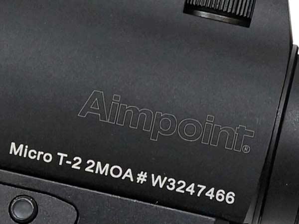 ACE1 ARMS Aimpointタイプ T-2 T2 ドットサイト ダットサイト アジャスタブルマウント