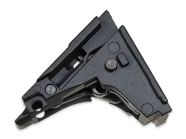 【ARMY FORCE製】ガスブローバックガン G17用 ハンマーセット 金属製 BK