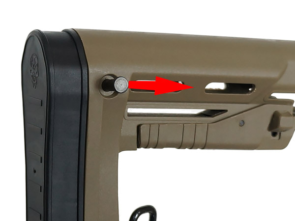 【APS製】RS2 コンパクトストック [ RS-2 Butt stock ] DE / EE087