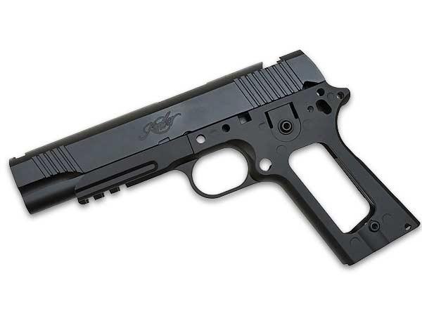 Kimber スタイル アルミスライド & フレーム セット 金属製 (ARMY-009)