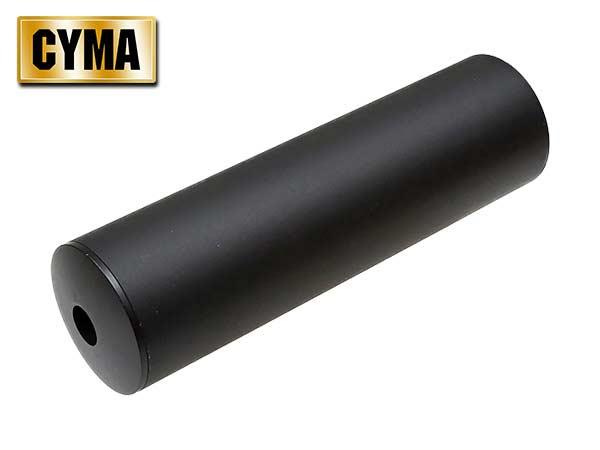 【CYMA製】電動ガン ガスブローバックライフル対応 P90サイレンサー 14mm 逆ネジ