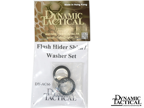 【DYTAC製】Flash Hider Shim Washer Set / M4 フラッシュハイダー用シムワッシャーセット / DY-AC66