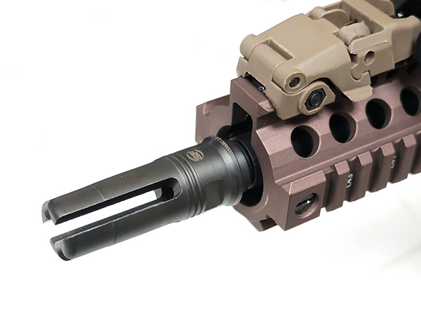 SUREFIRE刻印入!!DYTAC製【SUREFIREタイプレプリカ】SF 4 Prong Flash Hider Replica