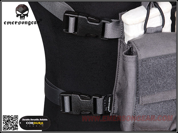 【EMERSON製】D3CR タクティカルチェストリグ / EmersonGear D3CR Tactical Chest Rig / EM7442MCBK