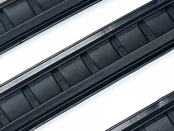 MAGPUL XTタイプ ラバー レイルパネル (3枚セット) / BK(ブラック) EX320