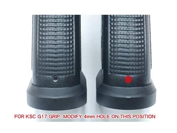 【GUARDER(ガーダー)製】グロック17/18C対応 マグウェル /  GLOCK-71(BK)
