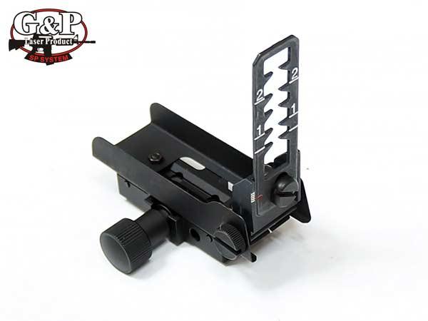 【G&P製】GP208 US SOCOM M203 QD フロントサイト / 金属製 BK(ブラック)