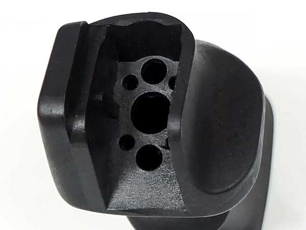 【G&P製】電動 M4 M16 SPR用 SPR グリップ ヒートシンクエンドセット《EG700/EG1000モーター対応》GP330 / BK(ブラック)