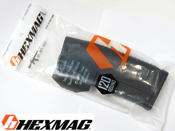【HEXMAG Airsoft】HEXMAG AEG 120連 / HEXマガジン