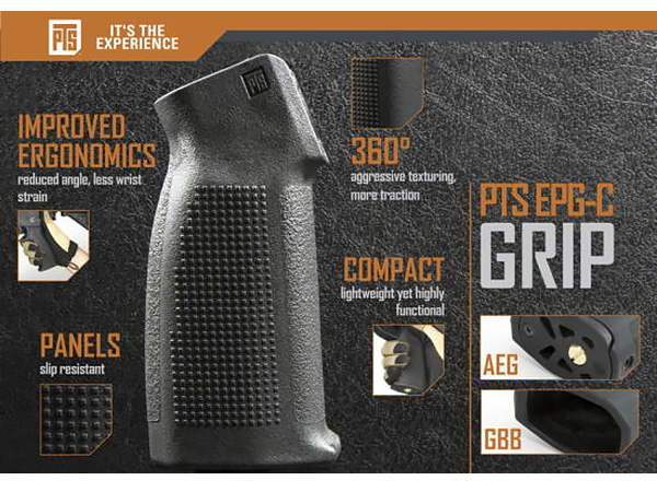 【PTS製】PTS Enhanced Polymer Grip - Compact (EPG-C)