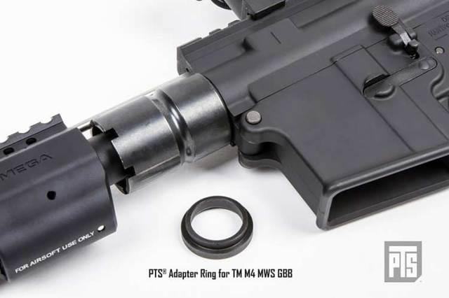 【PTS製】PTS Adapter Ring for Tokyo Marui GBB