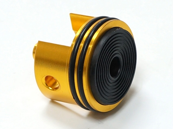 G36/AUG Ver.3 メカボックス 電動ガン用 CNC アルミニウム シリンダーヘッド (オレンジ)