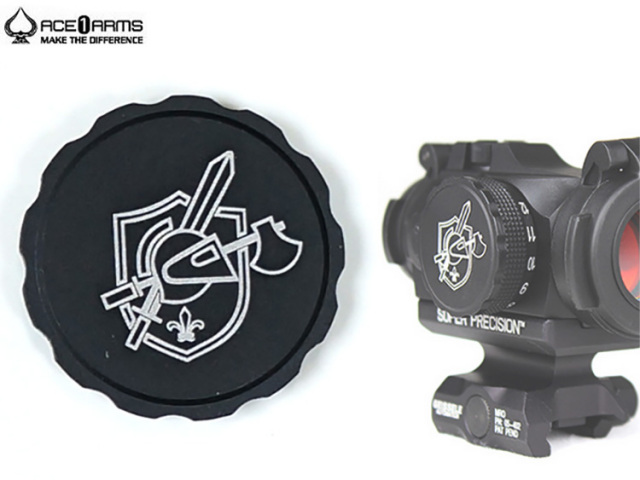 【ACE1 ARMS】Aimpoint Micro T-2用バッテリーカバー KAC刻印