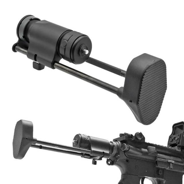【ARMY FORCE製】 電動ガン M4 M16用 スライドストック ストリンガータンクストック