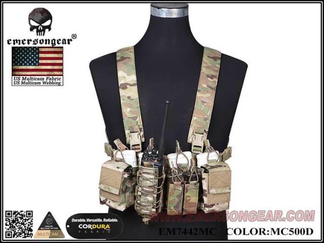 EmersonGear D3CR Tactical Chest Rig / EM7442MC