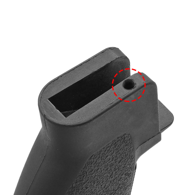 【 MP製 】 BCM タイプ GFG Mod.0 グリップ レプリカ 樹脂製 収納スペース付き
