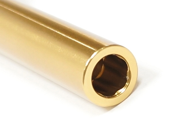 【GUARDER(ガーダー)製】Aluminum CNC Titanium Golden Outer Barrel