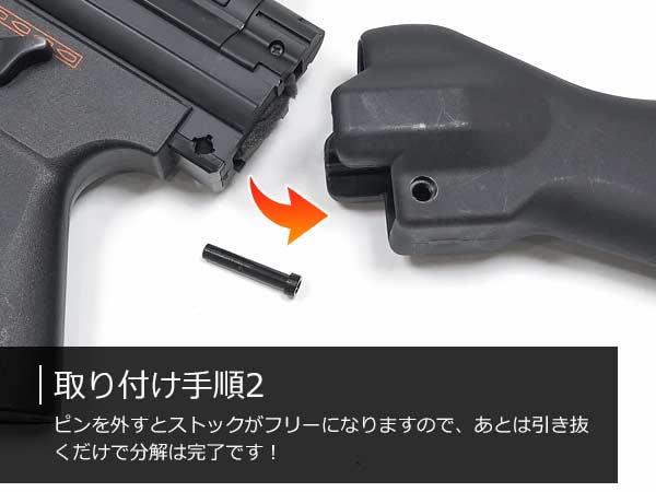 CYMA 電動ガン MP5 スライドストック