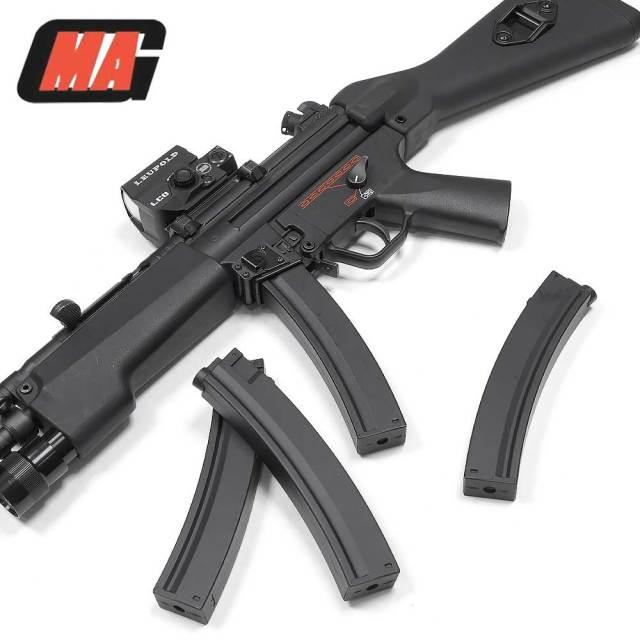 MAG 東京マルイ 電動ガン MP5 マガジン 90連 樹脂 スプリング