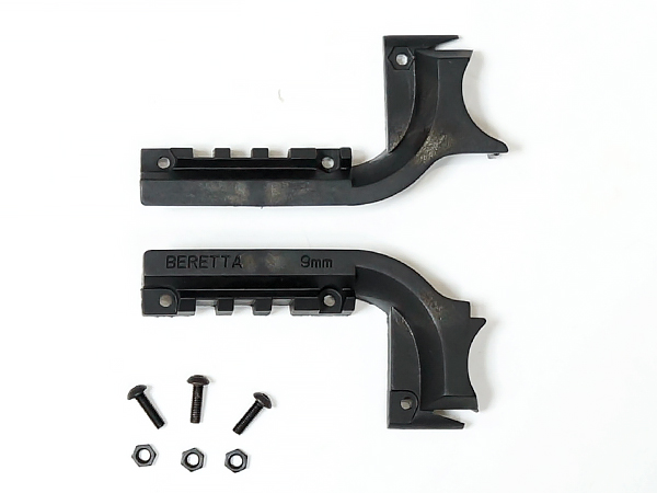 BERETTA M9/ベレッタM92用 20mmレイルマウント / BK(ブラック) PA0205