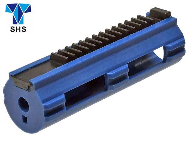 【SHS製】 電動ガン メカボックス Ver2,3用 軽量強化ピストン 金属14枚歯(14T) メタル/プラスチック製