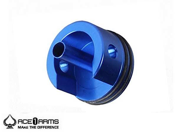 ACE1ARMS A7075 シリンダーヘッド  Ver.3 ショート (ブルー)(AEG/電動ガン用)A-CH-V3SO