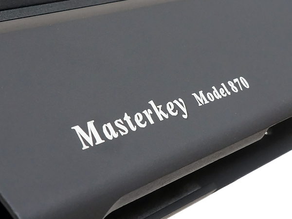 M870 ロープロファイルトップレール & マスターキー メタルボディ
