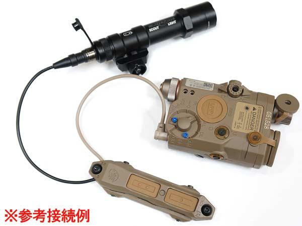 【Night-Evolution製】TAPSレプリカ デュアルスイッチ 20mmレイル/KeyMod/M-Lok対応