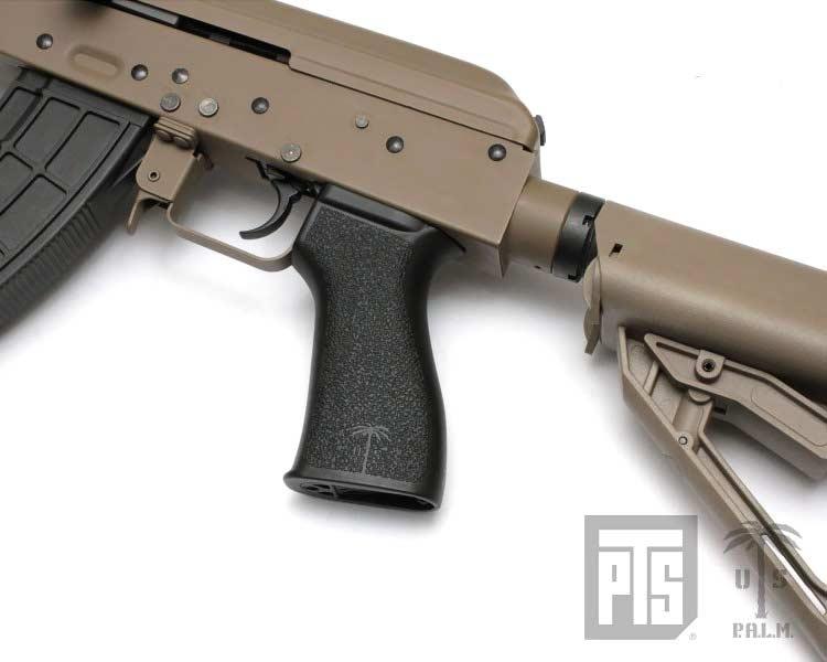 硬質ポリマー樹脂製【PTS MAGPUL & US Palm】 AK BATTLE GRIP (AEG)