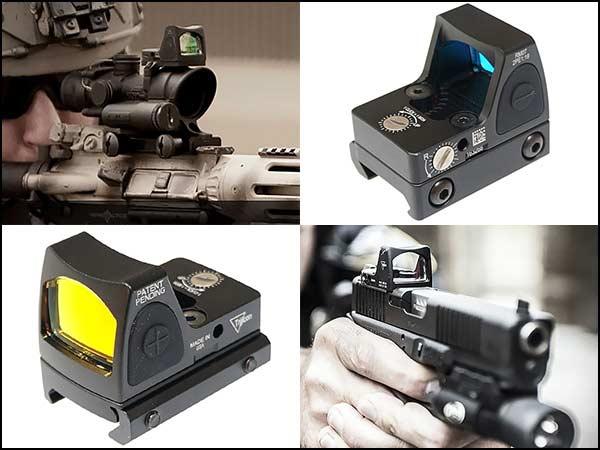 RMR ドットサイト & American Defence タイプ QDハイマウント セット