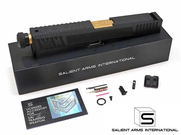 Umarex GBB G17用 SAI CNC アルミニウム TIER ONE スライド