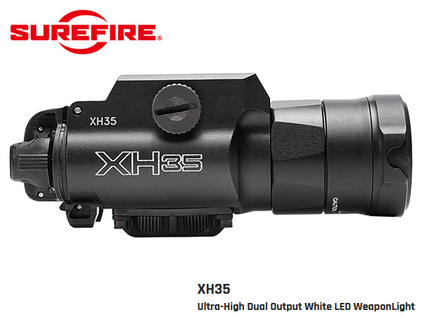 SUREFIRE XH35  -Ultra-High Dual Output White LED WeaponLight