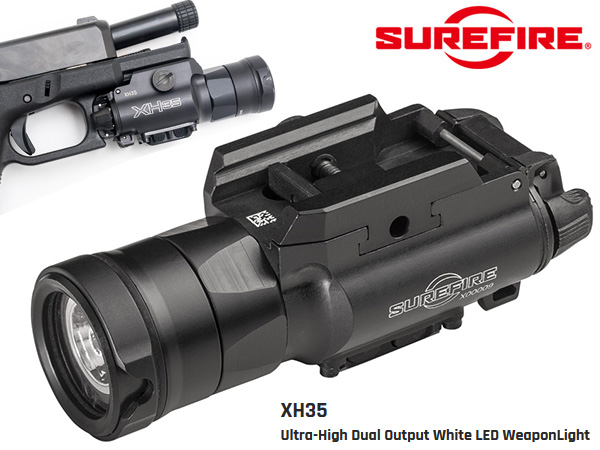 SUREFIRE XH35 - Ultra-High Dual Output White LED WeaponLight