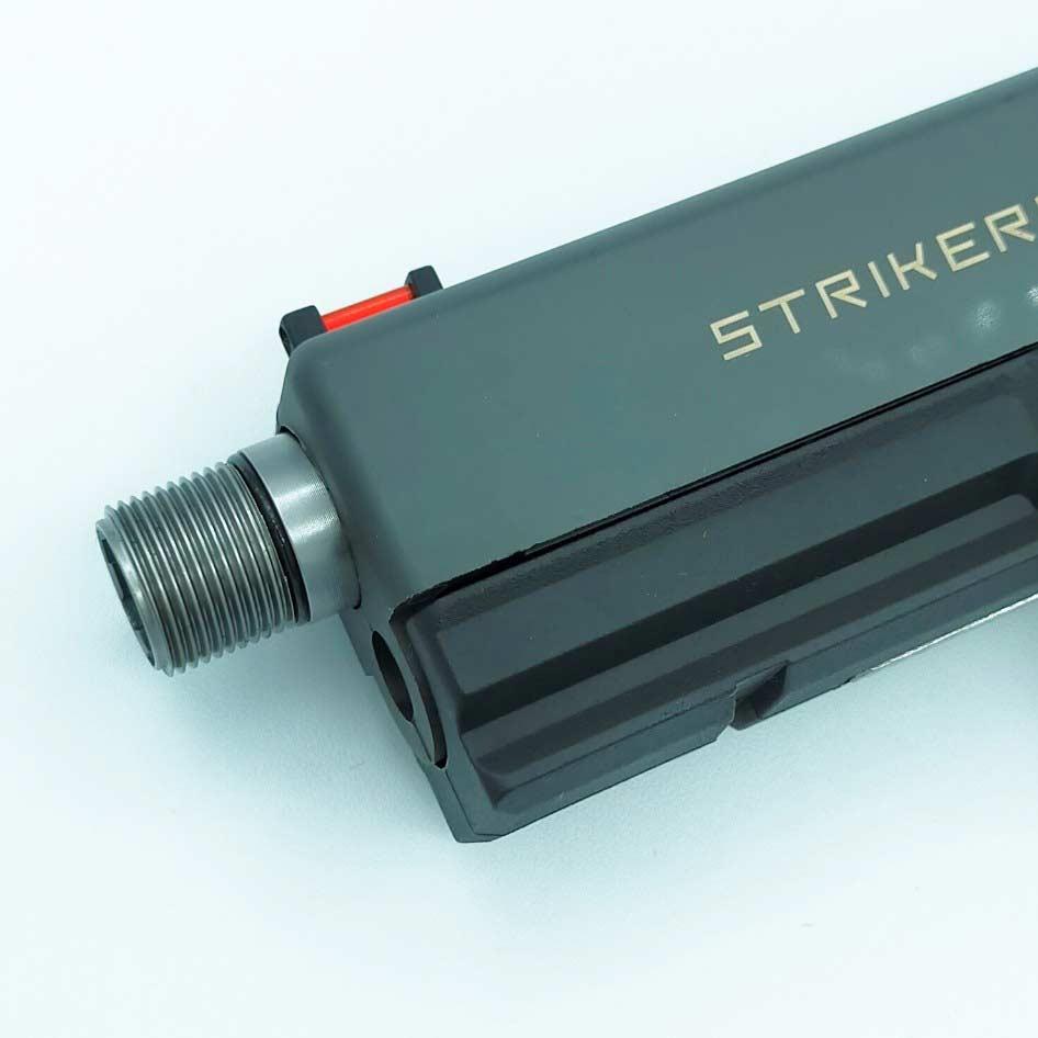 CARBON8(カーボネイト)製 STRIKER-9 (ストライカー9専用) サイレンサー対応アウターバレル(14mm逆ネジ)