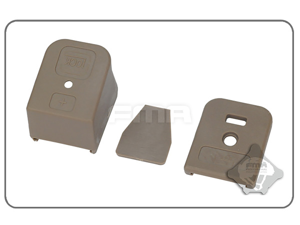 FMA製 G17 bottom cover / GLOCKマガジンボトムカバーセット 【TB1028】
