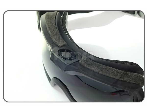 【FMA製】LPG01BK12-2R タクティカルファン ゴーグル