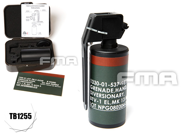 FMA Flash Bang dummy TB1255 / Mk13Mod0 ダミーグレネード (フラッシュバン)