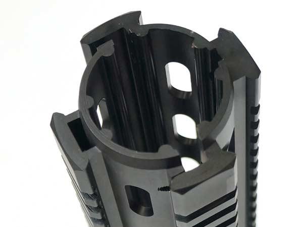 【Tufforceタイプレプリカ】 12inch AR Quad Rail for M4/M16(M4カスタムレイルハンドガード)