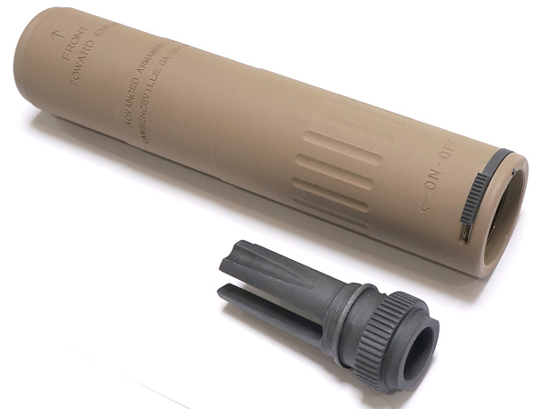 【ADVANCED ARMAMENT CORPタイプレプリカ】 AAC M4-2000 Silencer & Flash Hider