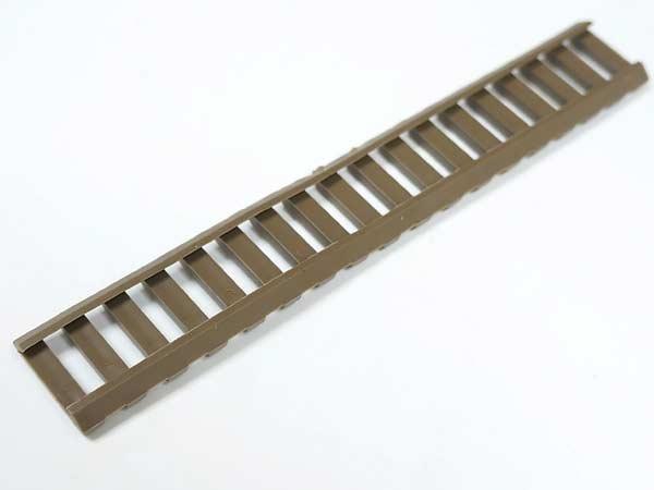 【ERGOタイプレプリカ】ラバー製スリムレイルカバー4枚セット