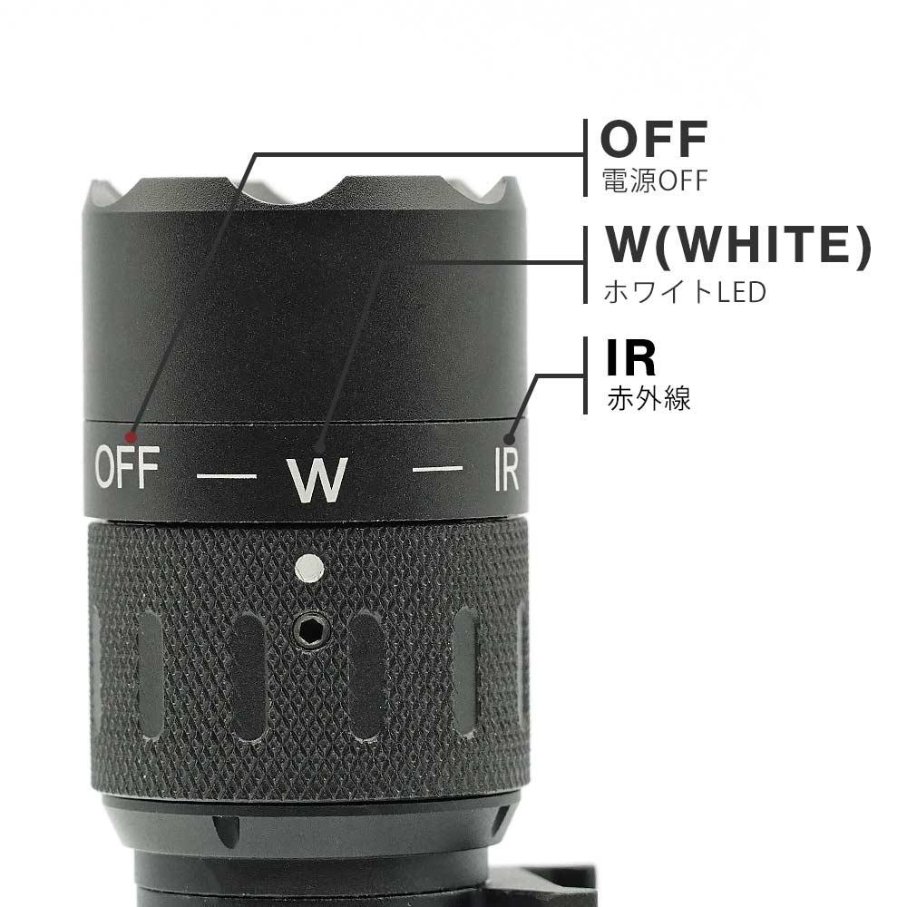 良品武品 WMX200 ウェポンライト 特殊部隊