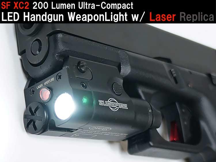 XC2 200 Lumen Ultra-Compact LED Handgun WeaponLight